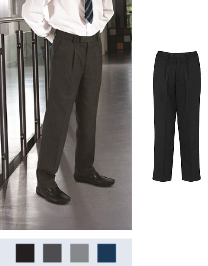 Banner Putney Senior Pleated Trousers